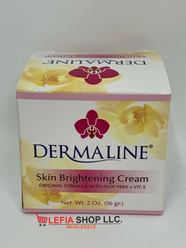 Dermaline - Skin Brightening Cream with Vitamin E & Aloe Vera - Original Form 2z